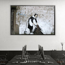 Load image into Gallery viewer, Maid Sweeping - Banksy