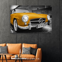 Load image into Gallery viewer, Mercedes-Benz Yellow Vintage Sport