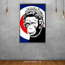 Load image into Gallery viewer, Monkey Queen - Banksy