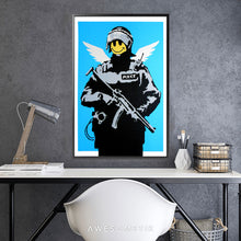 Load image into Gallery viewer, Flying Copper - Banksy