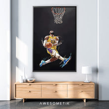 Load image into Gallery viewer, Lebron James Dunk
