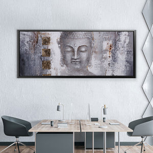 Buddha Painting Black White
