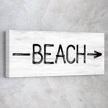 Load image into Gallery viewer, Beach Sign