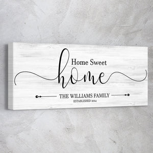 "Family Name ""Home Sweet Home"""