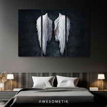 Load image into Gallery viewer, Angel Wings BW - Banksy