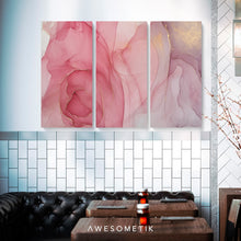 Load image into Gallery viewer, Pink Marbling Abstract