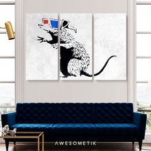 Load image into Gallery viewer, 3D Rat - Banksy
