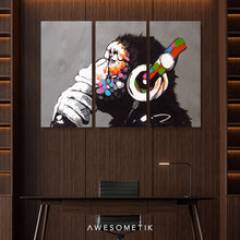 Load image into Gallery viewer, DJ Monkey Gorilla Chimp - Banksy