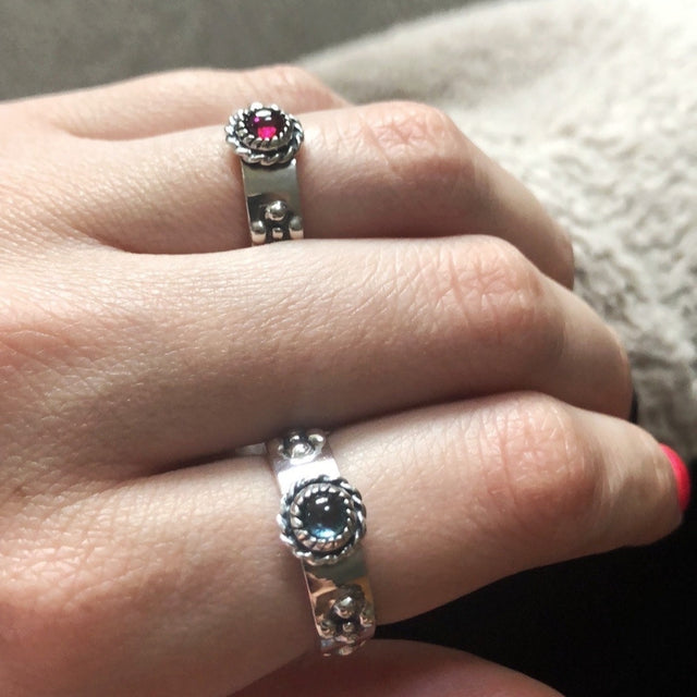 Howl Calcifer Ring & Sophie's Ring from Howl's Moving Castle