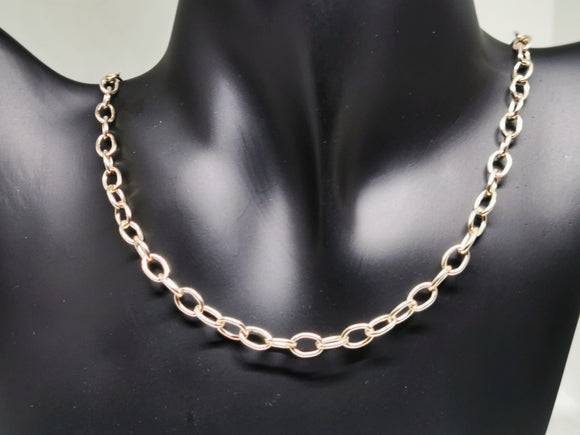 Antique Bronze 5.6mm Oval Cable Chain Made to Order