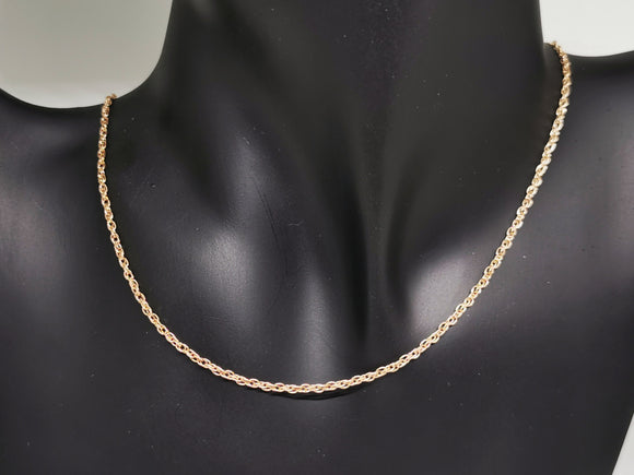 Antique Bronze 1.8mm Rope Chain made to order