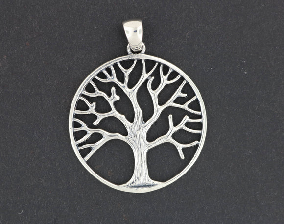 Tree of Life Pendant in Sterling Silver or Antique Bronze