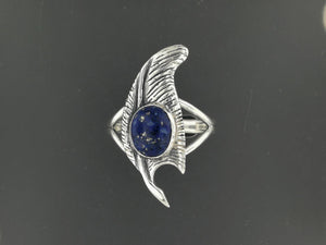 Feather of Ma-at Sterling Silver Ring Made to Order