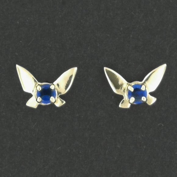 Gold Legend of Zelda Navi Fairy Earrings made to order