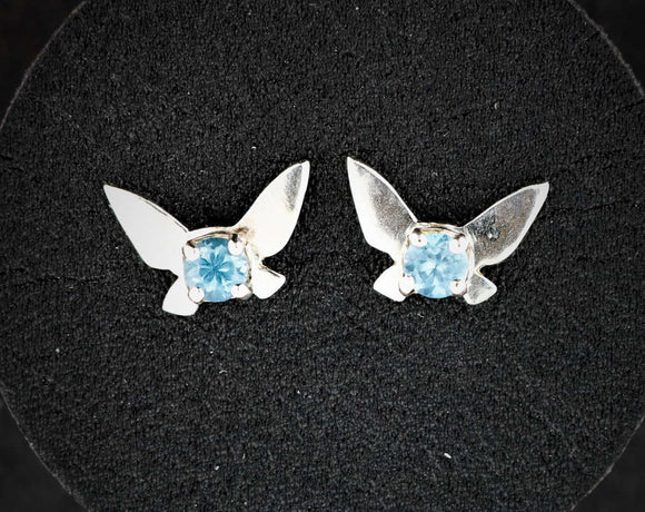Legend of Zelda Navi Fairy Earrings in Sterling Silver