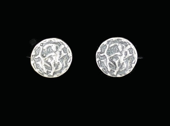 Sterling Silver Zodiac Stud Earrings Sagittarius