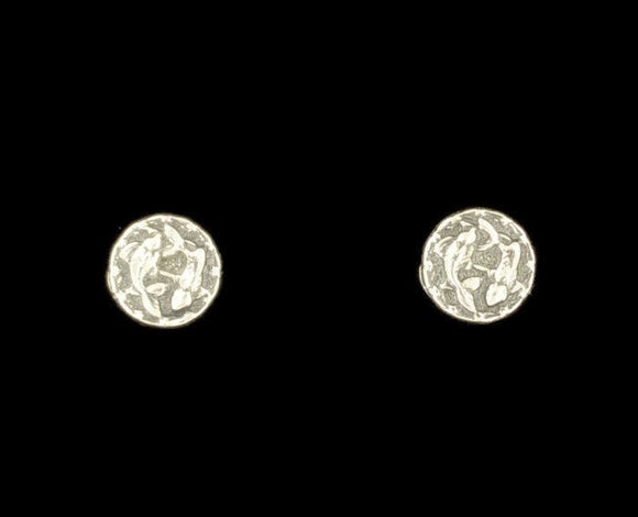 Gold Zodiac Stud Earrings Picese Made to Order