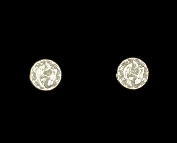 Sterling Silver Zodiac Stud Earrings Picese