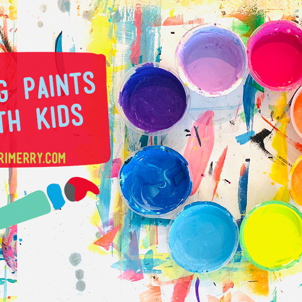 Mixing Paint Colors with Kids
