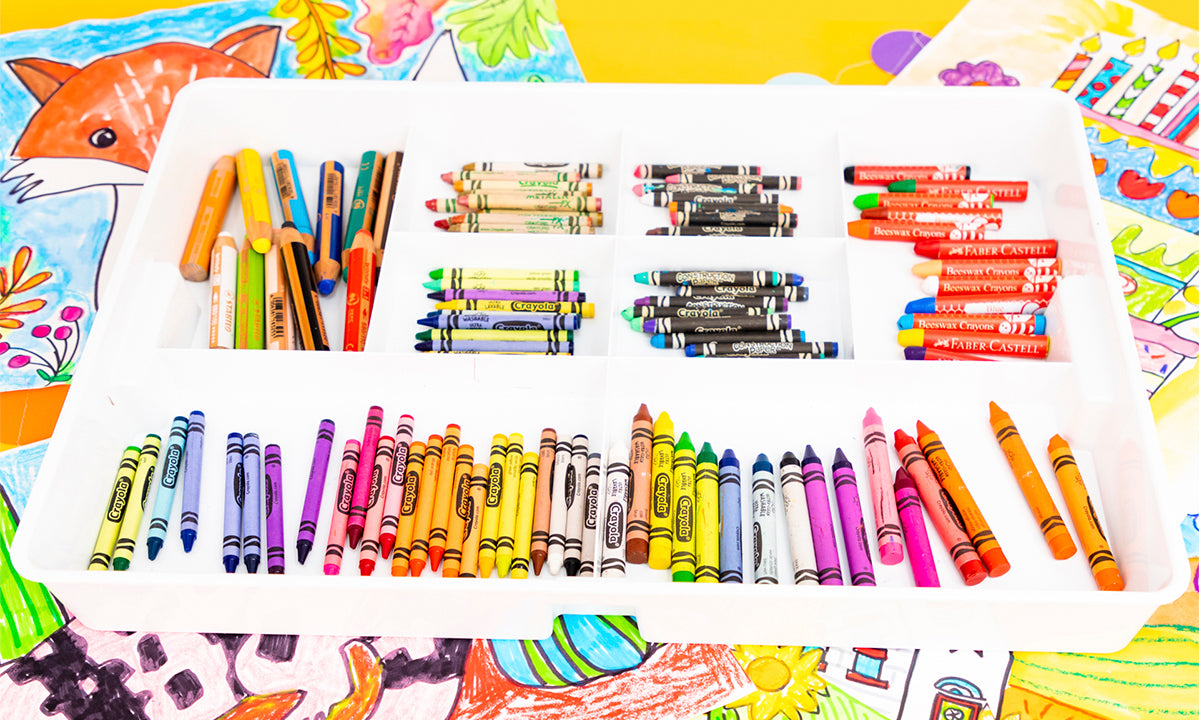 The Best Crayons for Kid's Art