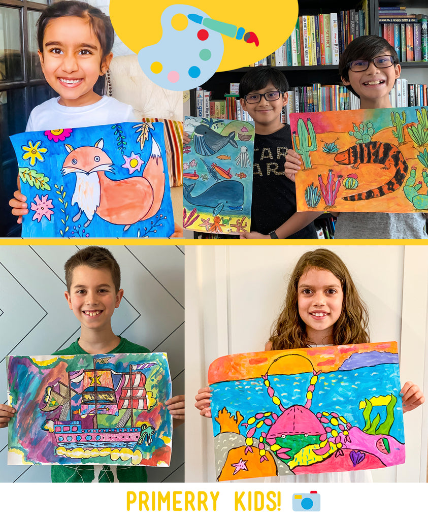 Primerry | Online Art Classes for Kids
