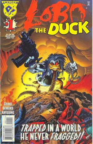 Lobo the Duck #1 (1997) Near Mint & Bagged BASYG