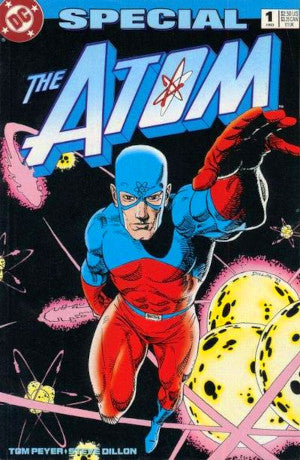 Basyg presents issue one of The Atom comic from 1993