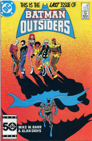 Basyg.tech sells BATMAN AND THE OUTSIDERS #32 (1986) VERY FINE & SEALED