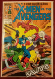 Large image of the physical item of basyg.tech website The X-Men Vs The Avengers #1 Marvel comic