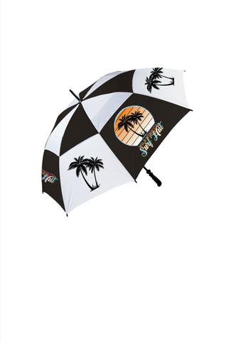WWSH Vintage Palm Tree design umbrella