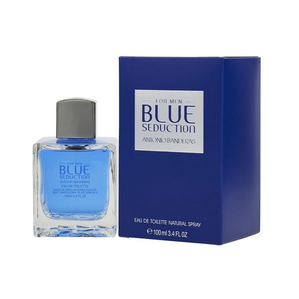 Antonio Banderas Blue Seduction 100ml Eau De Toilette Spray for Men