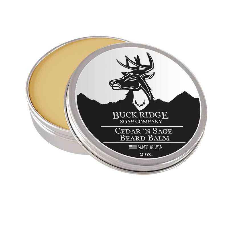Buck Ridge Soap Company Cedar & Sage Beard Balm