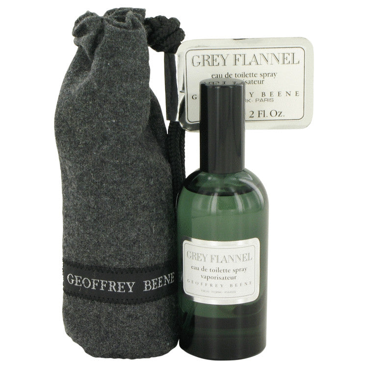 Geoffrey Beene GREY FLANNEL 2 oz. Eau De Toilette Spray Pouch for Men
