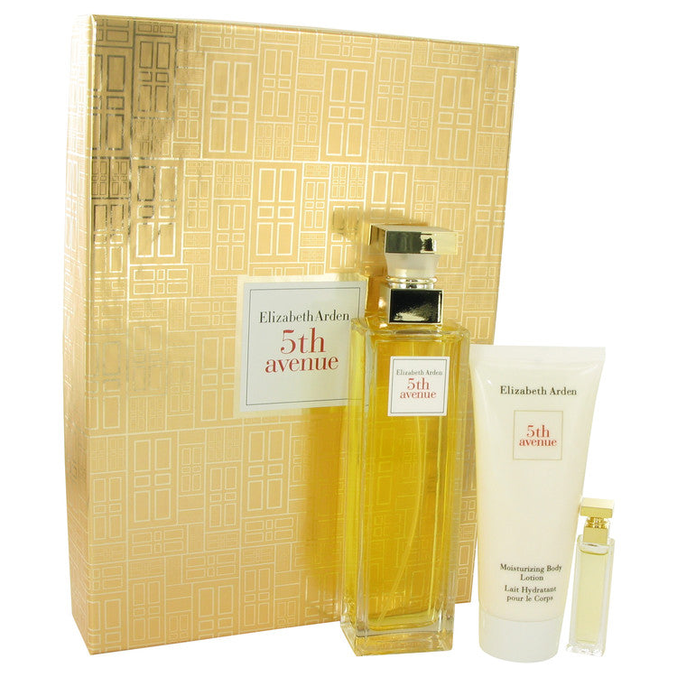Elizabeth Arden 5TH AVENUE Gift Set - Eau De Parfum Spray + Mini + Body Lotion for Women