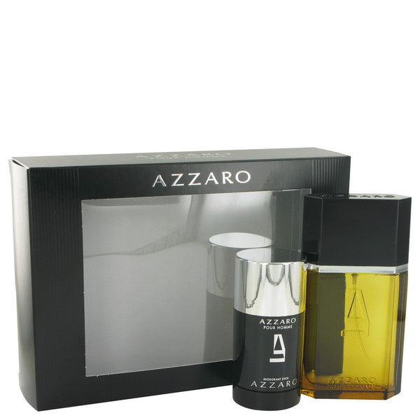 AZZARO Gift Set - Eau De Toilette Spray + Deodorant Stick for Men