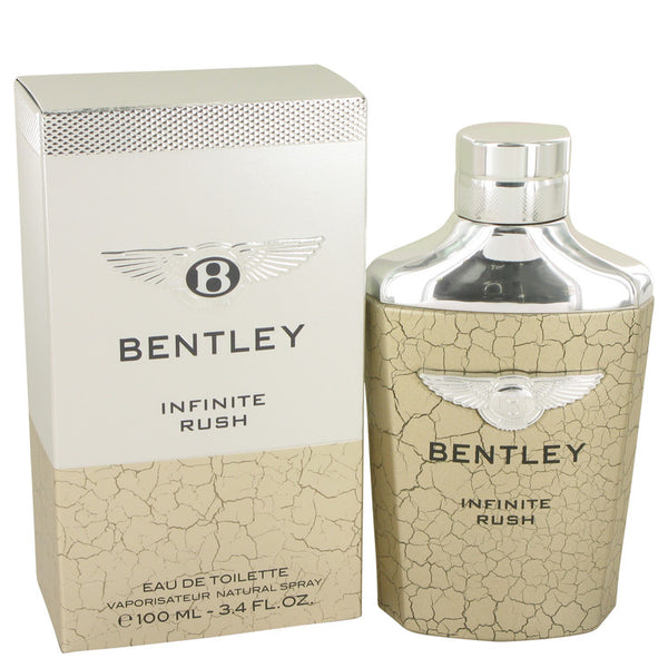 Bentley Infinite Rush 100ml Eau De Toilette Spray for Men