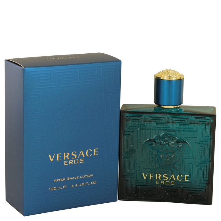 Versace Eros by Versace After Shave Lotion 3.4 oz for Men