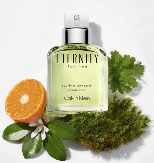 Calvin Klein Eternity for Men Eau de Toilette, 3.3 Fl Oz