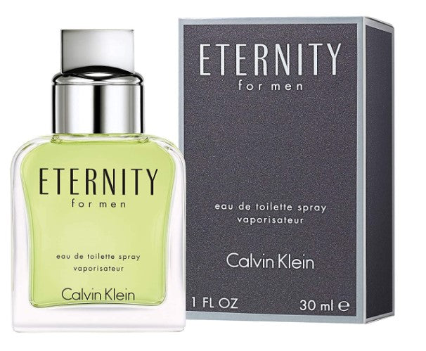 Calvin Klein ETERNITY for Men Eau de Toilette, 1.0 Fl Oz