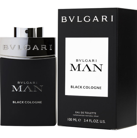 Bvlgari Man Black Colognemen Eau De Toilette Spray 3.4 oz/ 100 ml