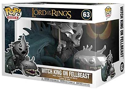 Funko Pop! The Lord of The Rings - Witch King on Fellbeast #63