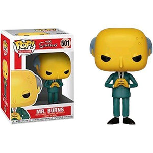 Funko- Pop The Simpsons: Mr. Burns-501