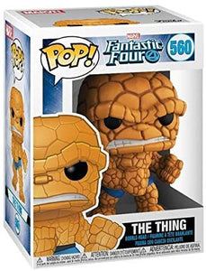 Funko- Pop Fantastic Four-The Thing #560