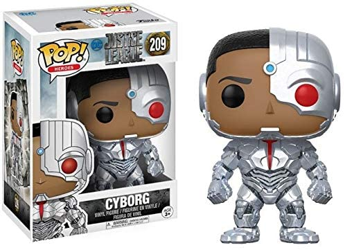 Funko- Pop Vinile Justice League Movie Cyborg-209