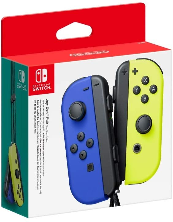 Controller Nintendo Switch Set da 2 Joystick BLU-GIALLO