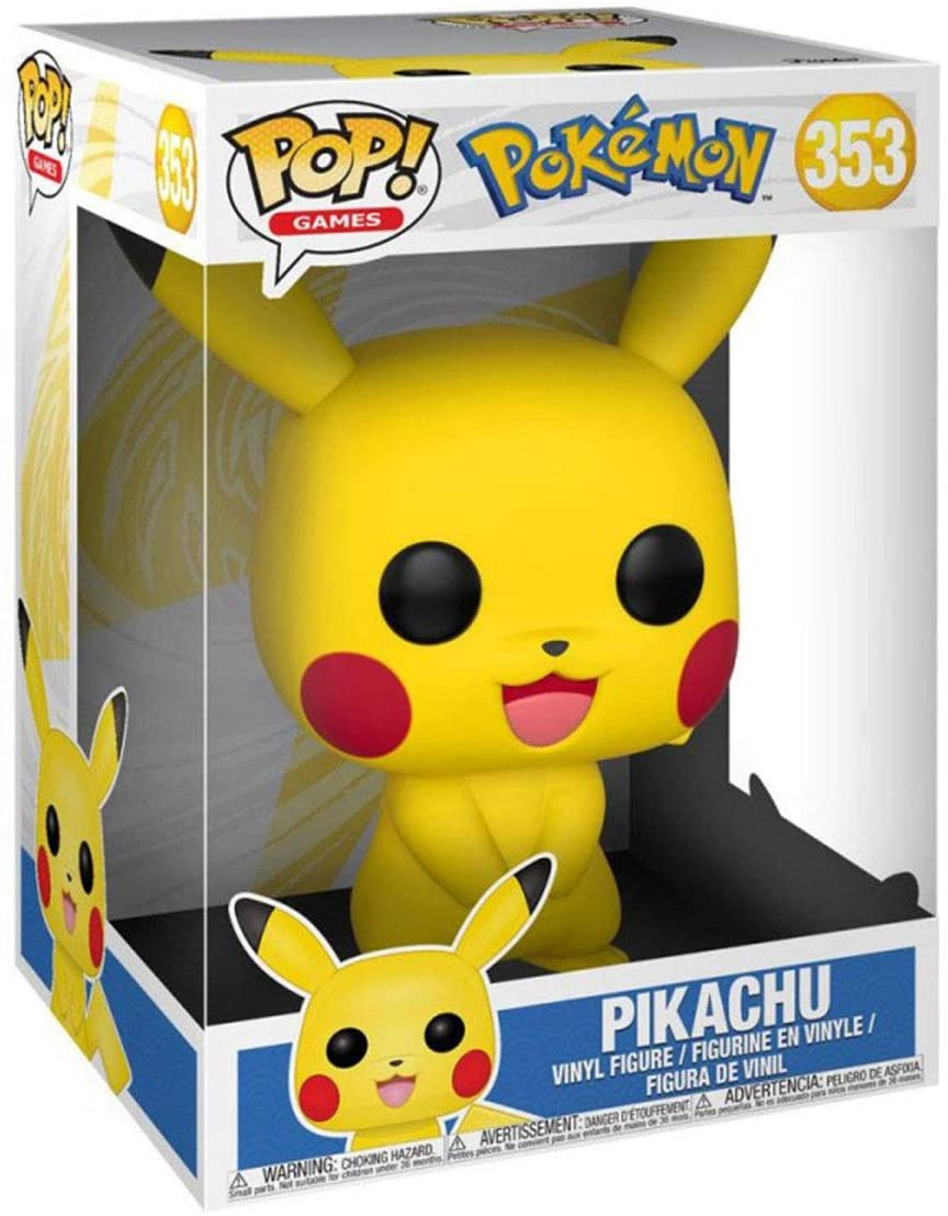 Funko  Pop Pokemon Supersized 10-inch