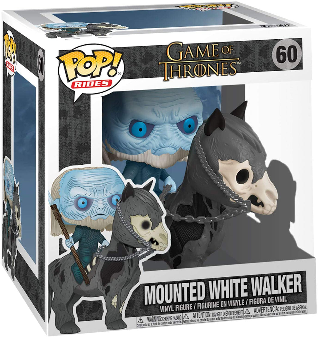 Funko- Pop Game of Thrones White Walker on Horse #60
