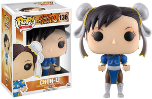 Funko- Pop Street Fighter Chun-Li #136