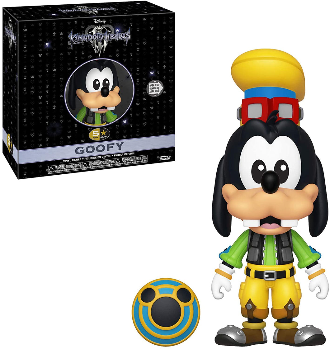 Funko- 5 Star: Kingdom Hearts 3: Goofy