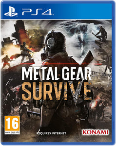 Konami Metal Gear Survive (Includes Survival Pack Dlc) Ps4